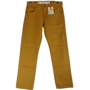 NWT Levi's 513 boy's 16r golt/tan colored